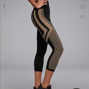 Zara Oysho seamless solid lines leggings NWT S